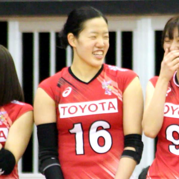 梅木瞳選手       Hitomi Umeki