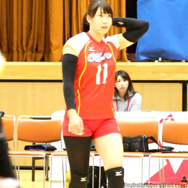 北川育海選手    Minari Kitagawa