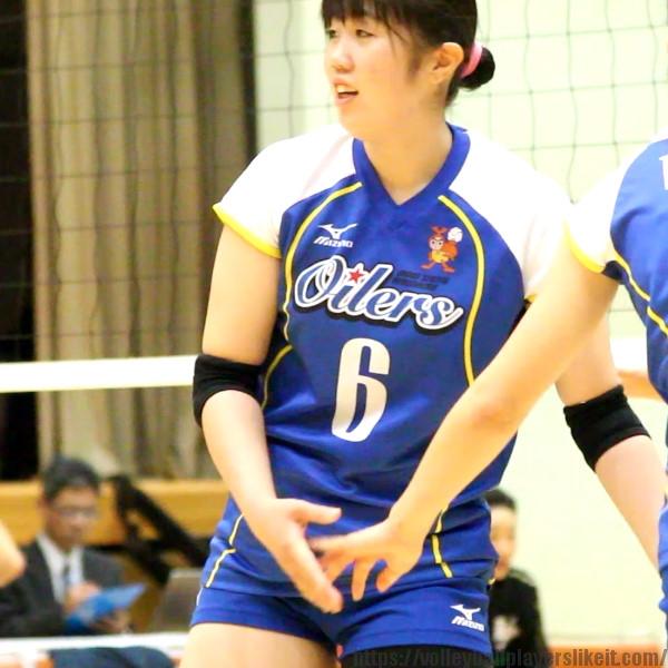 馬渡晴菜選手    Haruna Mawatari