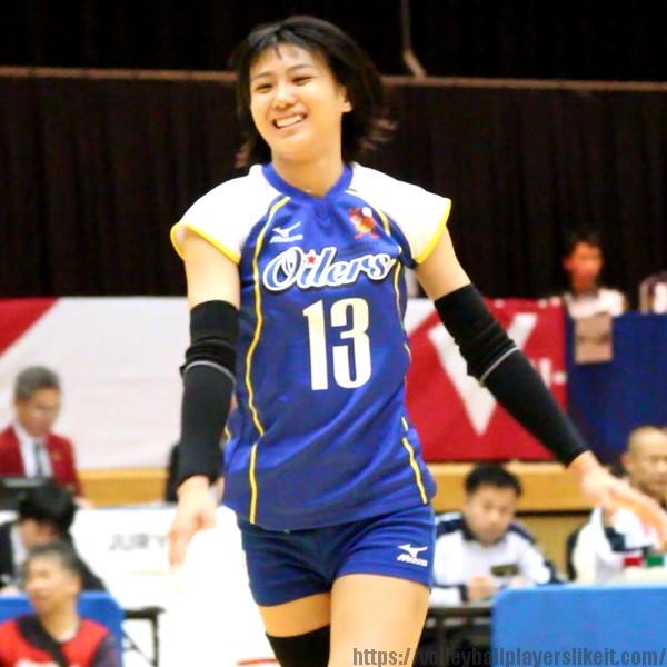 吉里遥選手     Haruka Yoshizato