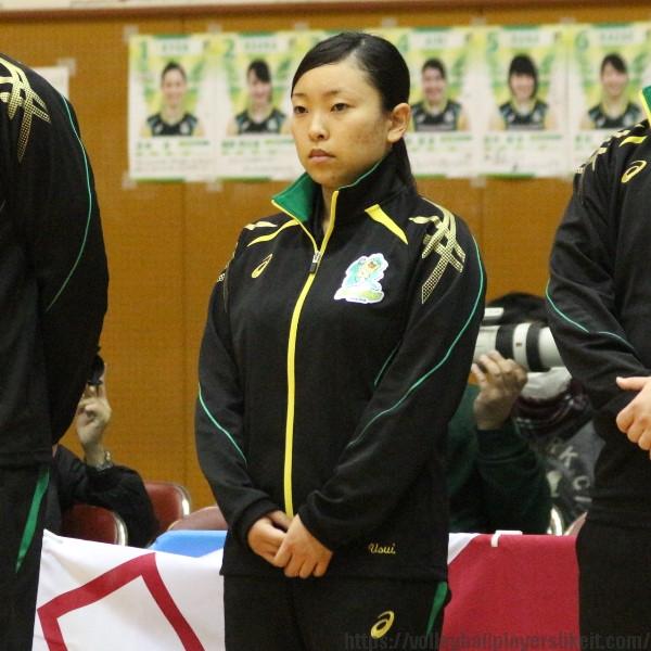 臼井千景選手 Chikage Usui