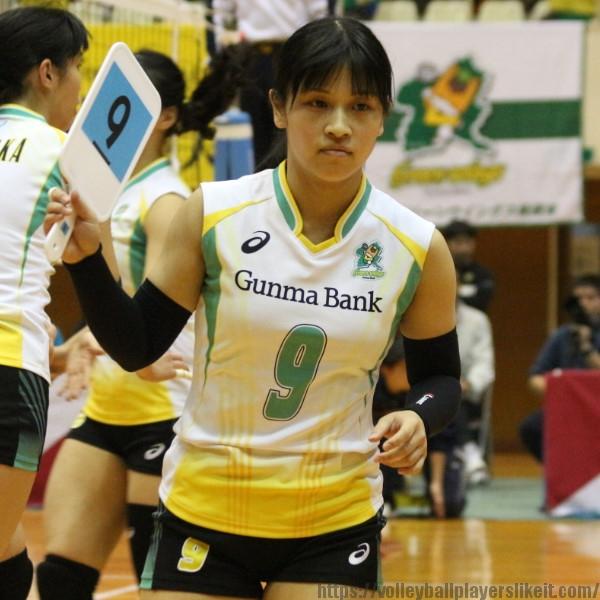 丸山佳穂選手    Kaho Maruyama