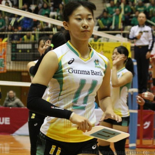 三好紗弥香選手  Sayaka Miyoshi