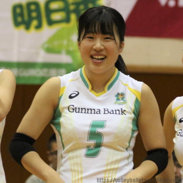 田中瑠奈選手    Runa Tanaka