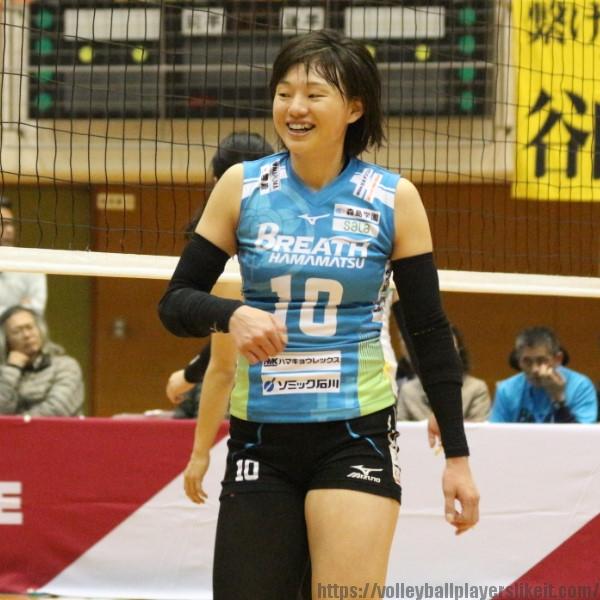 多田遥選手   Haruka Tada