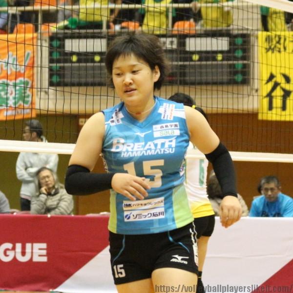 小松沙季 選手 Saki Komatsu