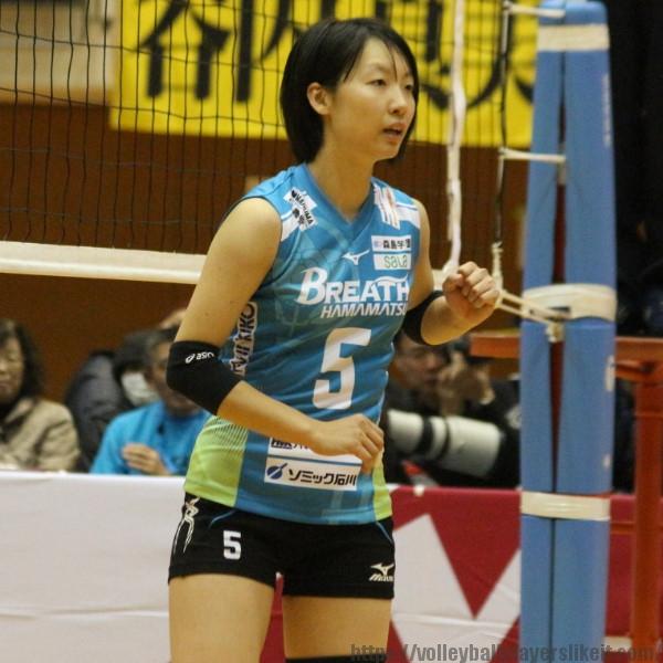 菅井美貴 選手 Miki Sugai