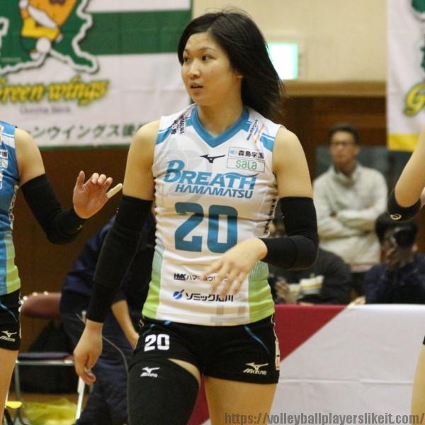 澁谷美妃選手   Miki Shibuya