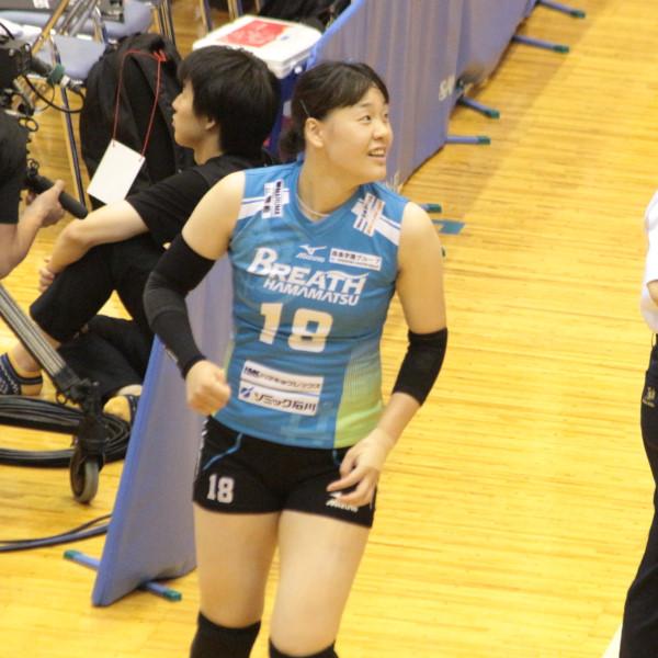 春田詩織選手   Shiori Haruta