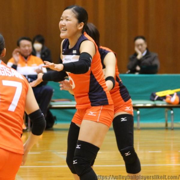 中田香澄 選手 Kasumi Nakada