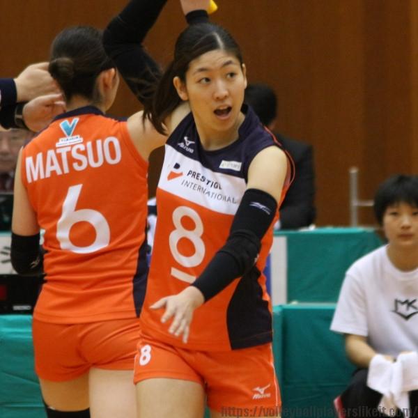 田村愛美選手  Megumi Tamura