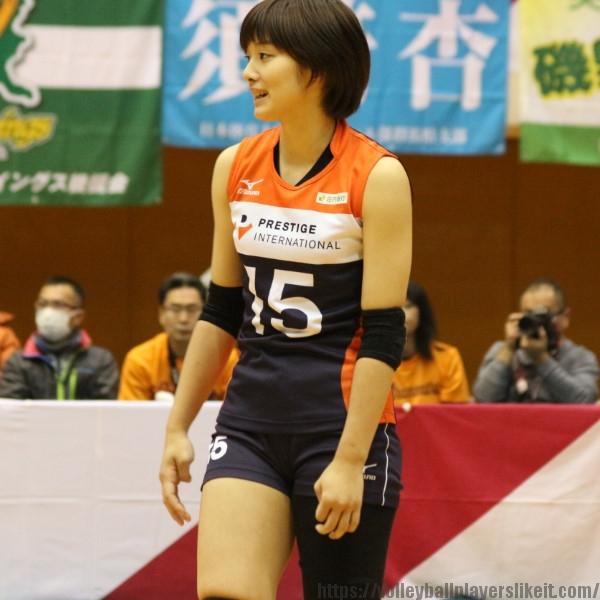 浅川希選手    Nozomi Asakawa