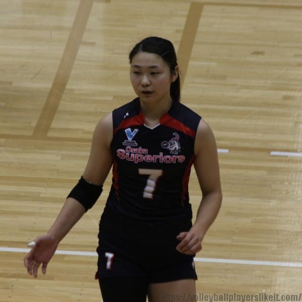 山本紗良選手      Sara Yamamoto