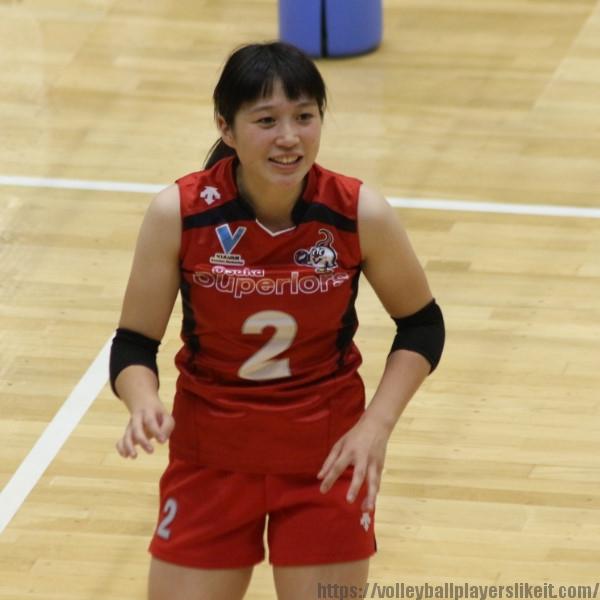 平川里菜選手    Rina Hirakawa