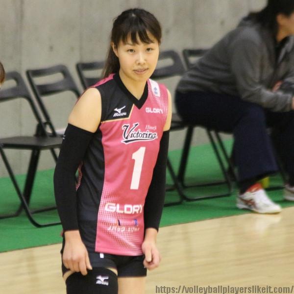 筒井視穂子 選手 Mihoko Tsutsui