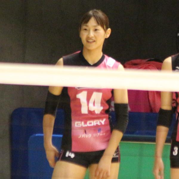 高木理江選 手     Rie Takaki