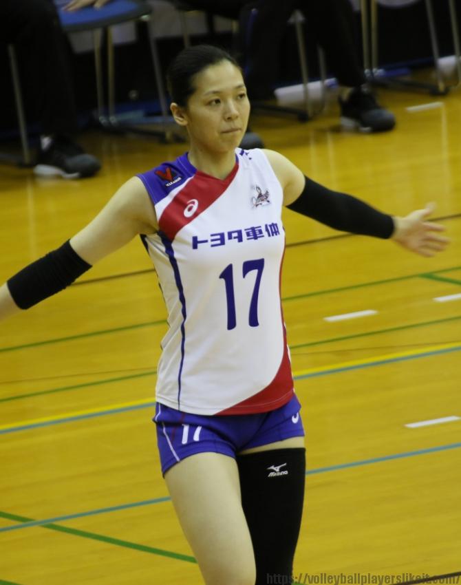 藪田美穂子選手 Mioko Yabuta