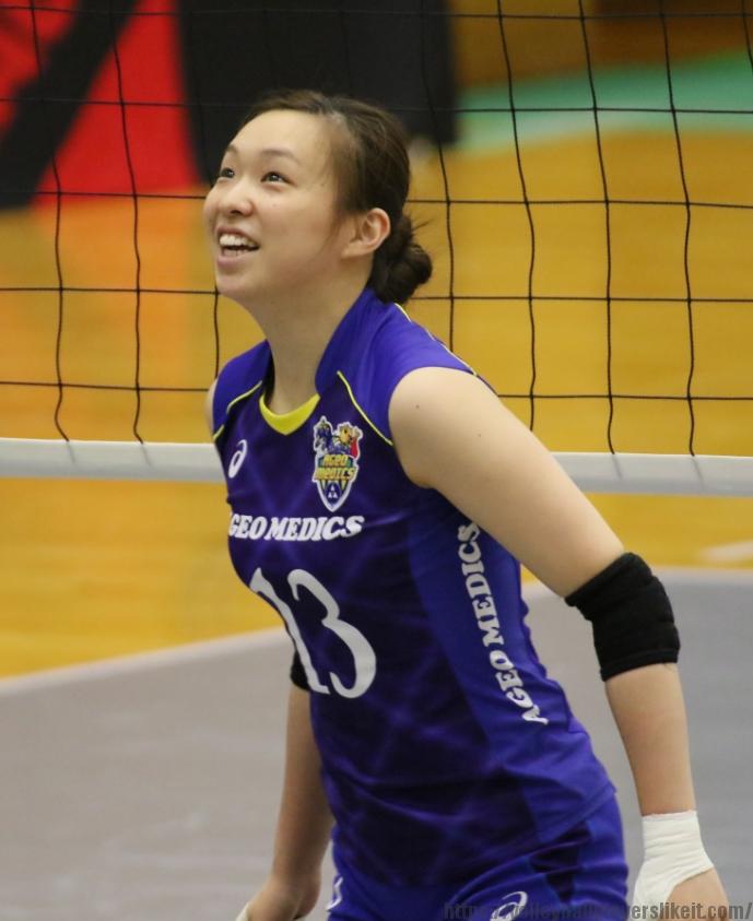 井上美咲選手 Misaki Inoue