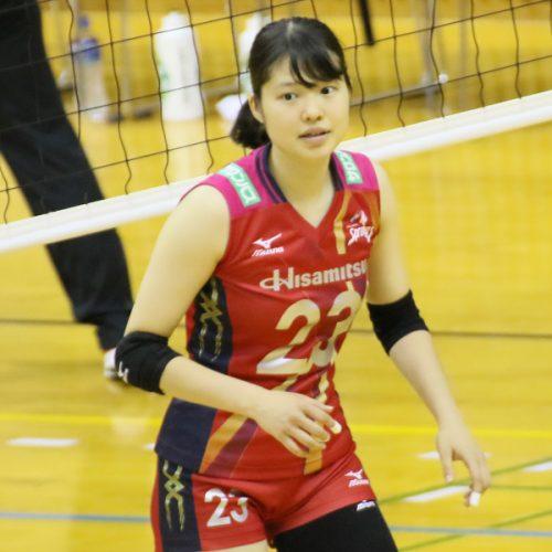 比金みなみ選手   Higane Minami