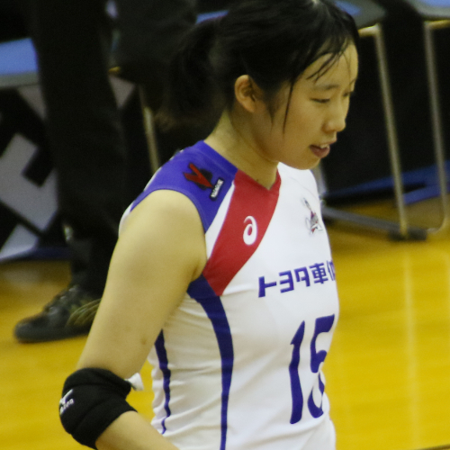 杉郁香選手 Ayaka Sugi 新人