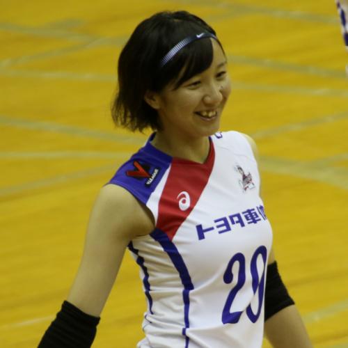 山形理沙子選手 Risako Yamagata