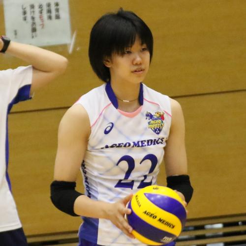 若松歩実選手 新人 Ami Wakamatsu