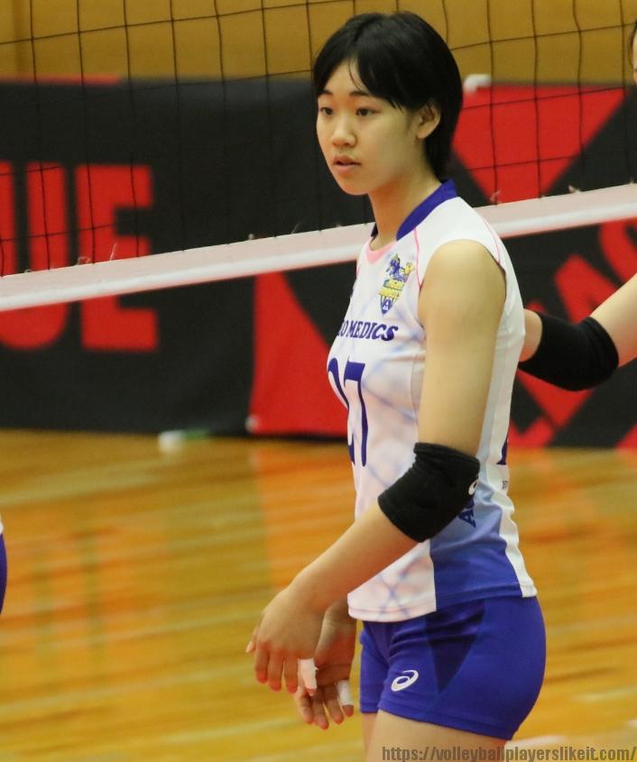 椎名真子選手 新人Mako Shiina