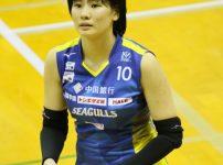 西村弥菜美選手 新人Minami Nishimura