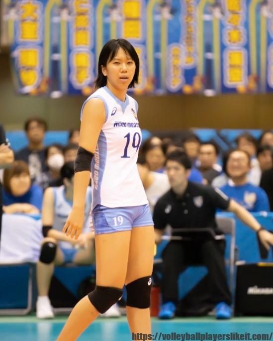 埼玉上尾メディックス仁井田桃子選手(Momoko Niida)