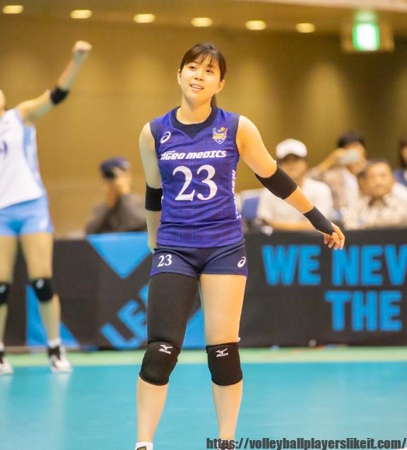 埼玉上尾メディックス大室璃紗選手(Risa Omuro)