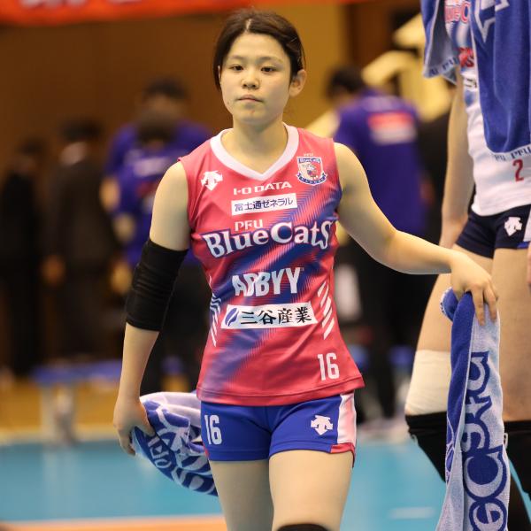 和田実莉選手 Minoro Wada
