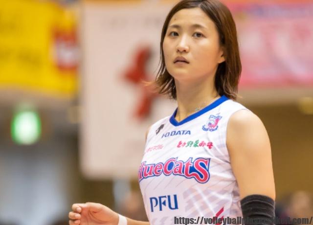 PFUブルーキャッツ 宇田沙織選手(Saori Uda)画像