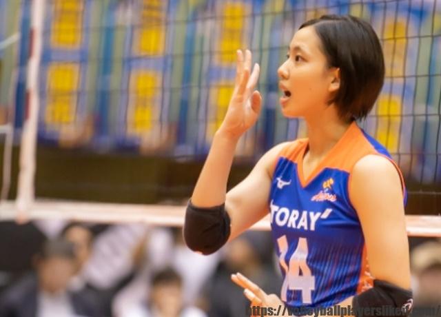 東レアローズ 関菜々巳選手(Nanami Seki)画像