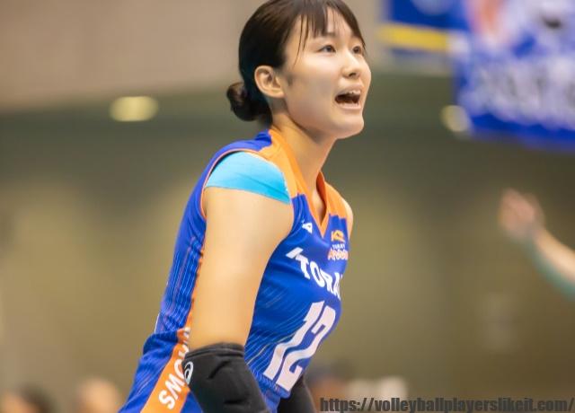 東レアローズ 小川愛里奈選手(Erina Ogawa)画像