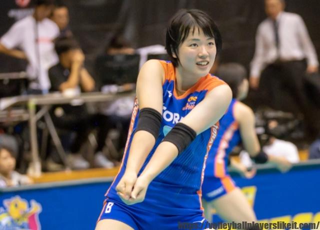 東レアローズ 白井美沙紀選手(Misaki Shirai)画像