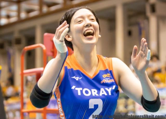 東レアローズ 堀川真理選手(Mari Horikawa)画像