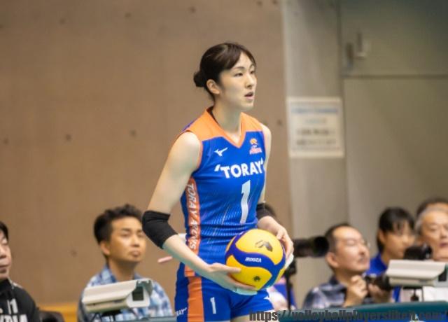 東レアローズ 井上奈々朱選手(Nanami Inoue)画像