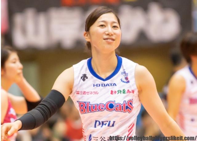 PFUブルーキャッツ 和才奈々美選手(Nanami Wasai)画像