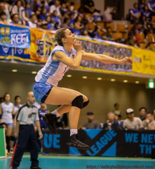 埼玉上尾メディックス シュシュニャル カタリナ選手画像